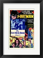 Framed Batman The Electrical Brain