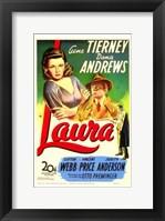 Framed Laura Gene Tierney