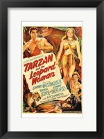 Framed Tarzan and the Leopard Woman, c.1946 - style A