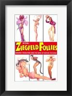 Framed Ziegfeld Follies posing