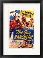 Framed Gay Ranchero