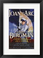 Framed Joan of Arc