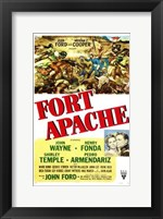 Framed Fort Apache