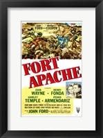 Framed Fort Apache