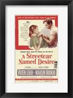 Framed Streetcar Named Desire Marlon Brando