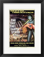 Framed Day the Earth Stood Still From Outer Space
