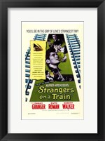 Framed Strangers on a Train