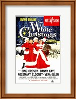 Framed White Christmas