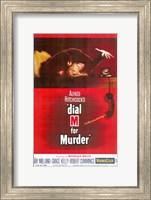 Framed Dial M for Murder