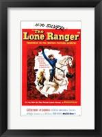Framed Lone Ranger - Hi-Yo Silver