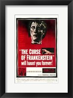 Framed Curse of Frankenstein