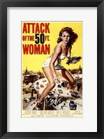 Framed Attack of the 50 Foot Woman
