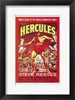 Framed Hercules Steve Reeves