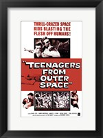 Framed Teenagers from Outer Space