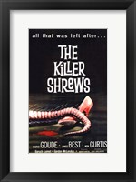 Framed Killer Shrews