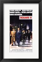 Framed Oceans 11 Dean Martin