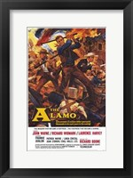 Framed Alamo John Wayne