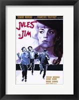 Framed Jules and Jim Oscar Werner
