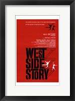Framed West Side Story Natalie Wood
