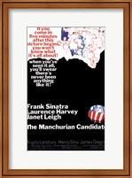Framed Manchurian Candidate Sinatra Harvey