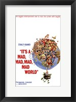 Framed It's a Mad Mad Mad Mad World Stanley Kramer