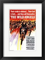 Framed Wild Angels