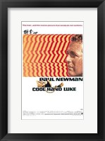 Framed Cool Hand Luke Retro
