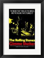 Framed Gimme Shelter