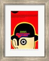 Framed Clockwork Orange Stanley Kubrick