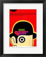 Framed Clockwork Orange Stanley Kubrick