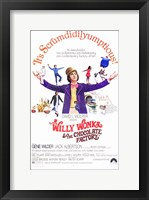 Framed Willy Wonka and the Chocolate Factory - It's Scrumdidilyumptious
