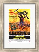 Framed Battle for the Planet of the Apes