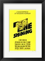 Framed Shining - yellow