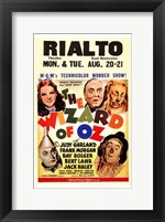 Framed Wizard of Oz Rialto