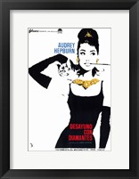 Framed Breakfast At Tiffany's (spanish)