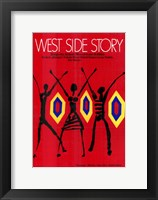 Framed West Side Story Red Dancers