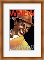 Framed Wnew Am 1130