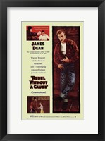 Framed Rebel Without a Cause Mutliple Shots Yellow