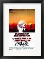 Framed Jeremiah Johnson