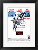 Framed True Grit John Wayne