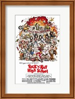 Framed Rock N Roll High School