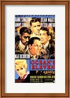 Framed Oceans 11 Frank Sinatra