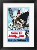Framed Assault on a Queen
