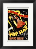 Framed Top Hat - Astaire Rogers
