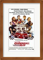 Framed Cannonball Run