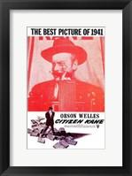 Framed Citizen Kane Best Picture of 1941