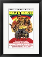 Framed Kelly's Heroes