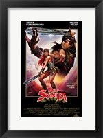 Framed Red Sonja, c.1985 - style A