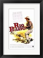 Framed Rio Bravo - cowboy