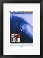 Framed Step Into Liquid